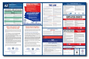 Arizona labor law poster