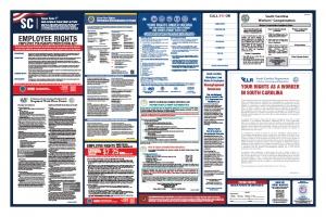 South Carolina Labor Law Poster